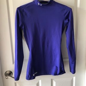 Women's cold weather compression shirt